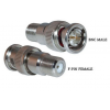 BNC Male to F Female Connector, -0