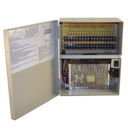 12vDC, 20 Amp UL Listed Security Camera Power Supply, 18 Ch