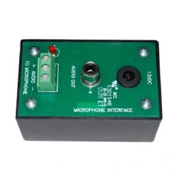 ACA-MIC-AMP01, Microphone Interface Adapter, Single Channel