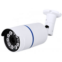 1080P Resolution, 4-in-1 (AHD, HD-TVI, HD-CVI, and Analog) Varifocal Super IR Bullet Camera (White Color)-0