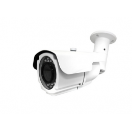 1080P Resolution, 4-in-1 (AHD, HD-TVI, HD-CVI, and Analog) Varifocal IR Bullet Camera (White Color)-0